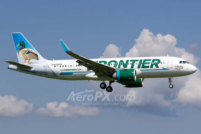Frontier Airlines Airbus A320-251N - N356FR