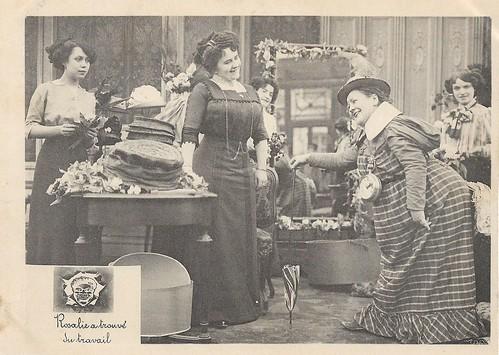 Rosalie a trouvé du travail (1911)