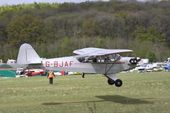 G-BJAF Piper J-3C-65 Cub [8437] Popham 050519