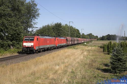 189 078 + 189 088 . DB Cargo . 48739 . Kaldenkirchen . 30.07.19.