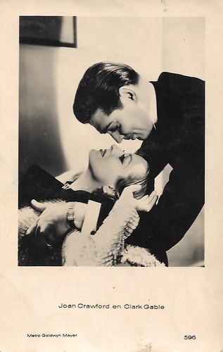 Joan Crawford and Clark Gable in Dancing Lady (1933)