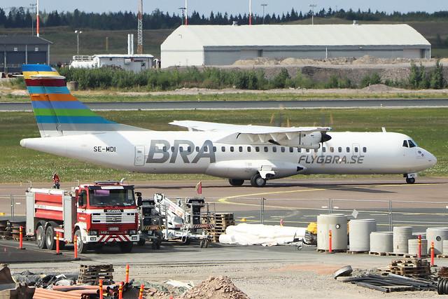 SE-MDI  -  ATR-72-500  -  Braathens Regional  -  EFHK/HEL 1/8/19