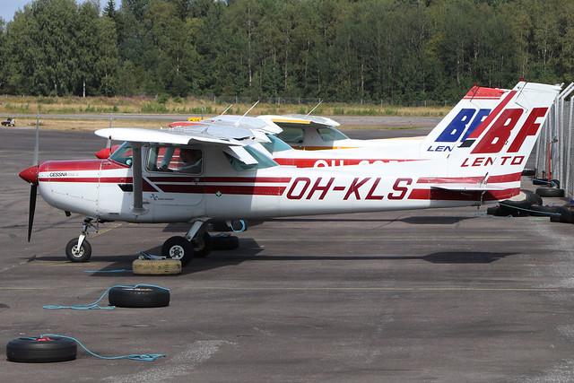 OH-KLS  -  Cessna 152  -  BF Lento  -  EFHF 1-8-19