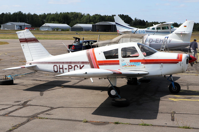 OH-PCK  -  Piper Pa28 Cherokee  -  Private  -  EFHF 1-8-19