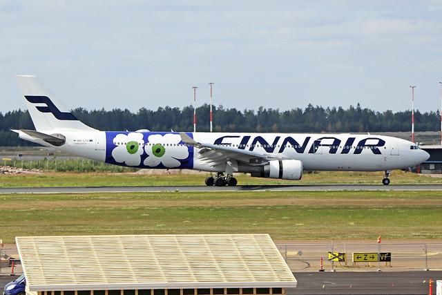 OH-LTO  -  Airbus A330-302  -  Finnair  -  EFHK/HEL 1/8/19