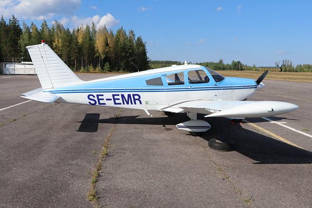 SE-EMR  -  Piper Pa28 Cherokee  -  Private  -  EFLA 28/7/19