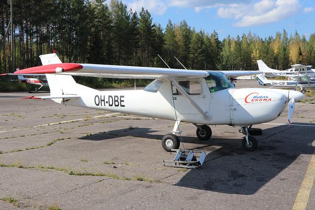 OH-DBE  -  Reims/Cessna F150K  -  Private  -  EFLA 28-7-19