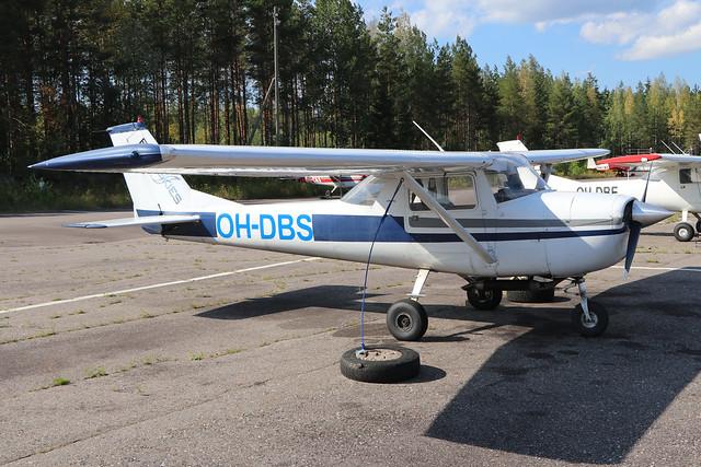 OH-DBS  -  Cessna 150K  -  Private  -  EFLA 28-7-19