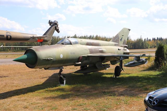 MG-131  -  Mig21BIS  -  Finnish Air Force  -  EFLA 28-7-19