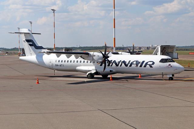 OH-ATI  -  ATR-72-500  -  Finnair  -  EFHK/HEL 28/7/19