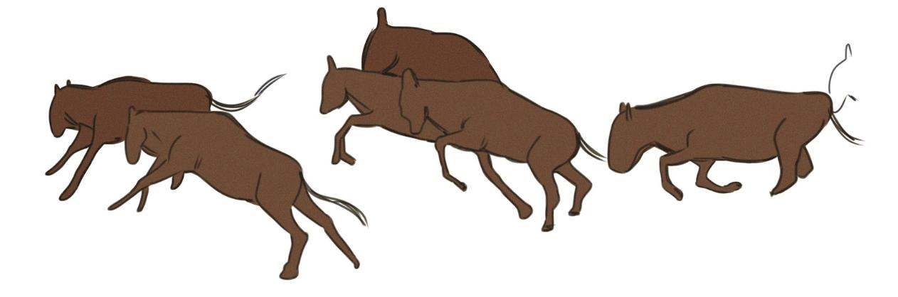 "notants art ""wildebeest"""