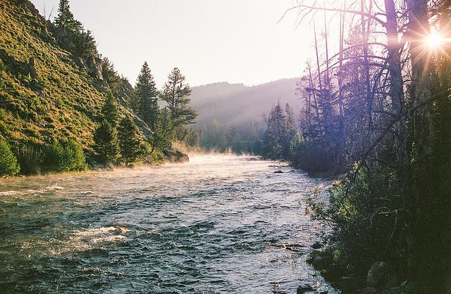 The Salmon River, Idaho