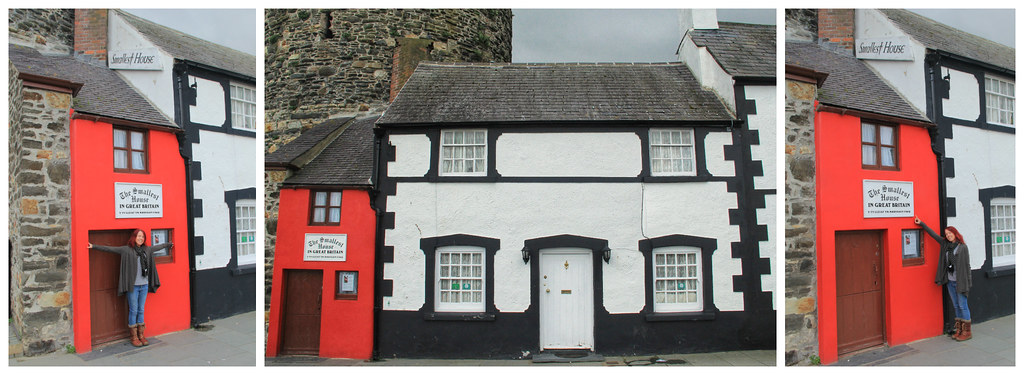 The smallest house in Great Britain, Conwy, North Wales