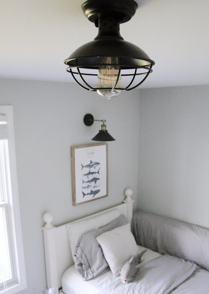 Cage Ceiling Light Farmhouse