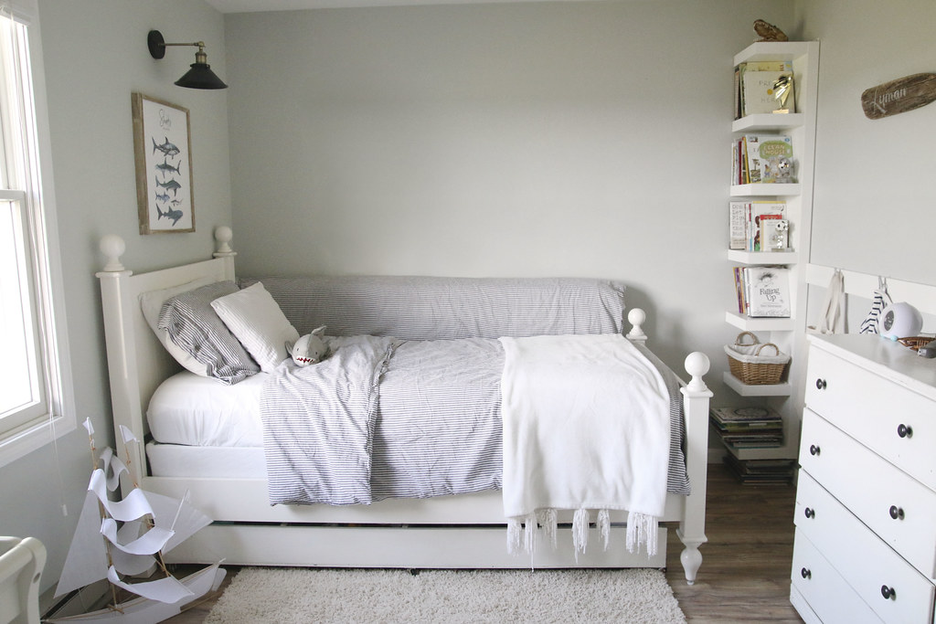 Neutral Nautical Bedroom
