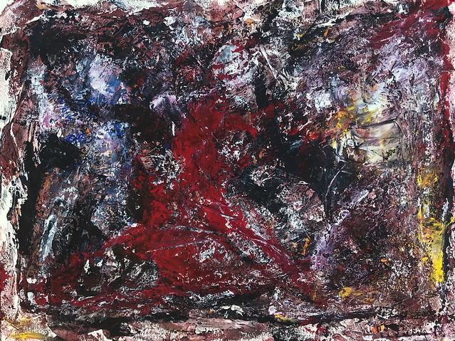 La Valse a mille temps celebrating life #gouache #art #painting #peterseelig