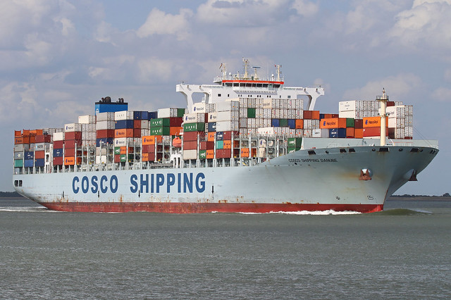 COSCO SHIPPING DANUBE - WALSOORDEN