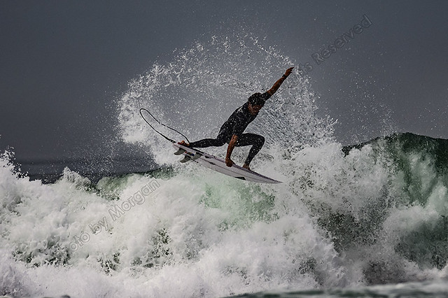 Surfers at Hunginton Beach
