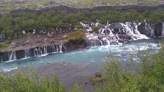 Iceland Hraunfossar