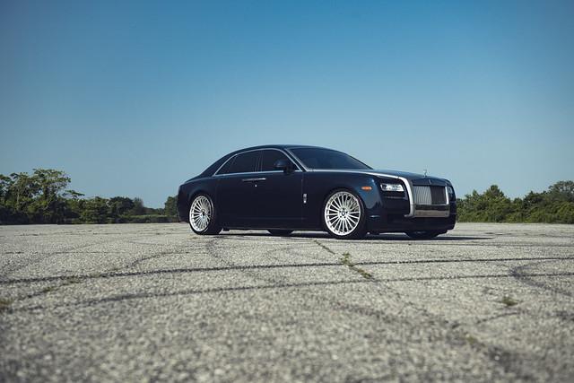 TSW Turbina on Rolls-Royce Ghost