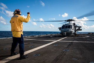 Coast Guard Cutter Stratton participates in Talisman Sabre 2019