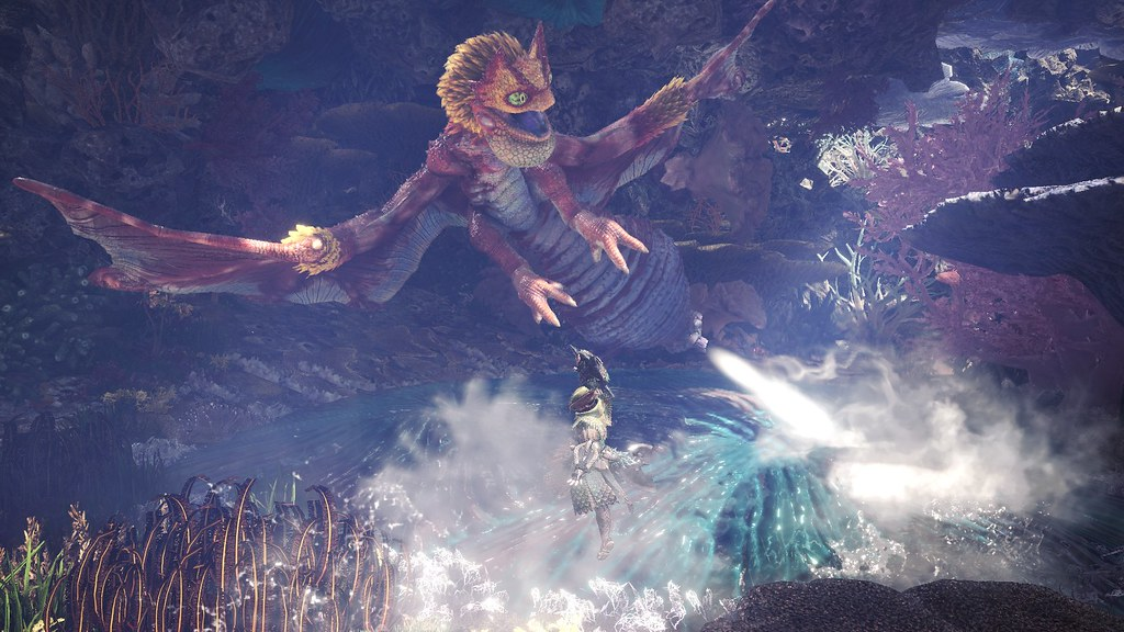 Monster Hunter World: Iceborne – Coral Pukei Pukei