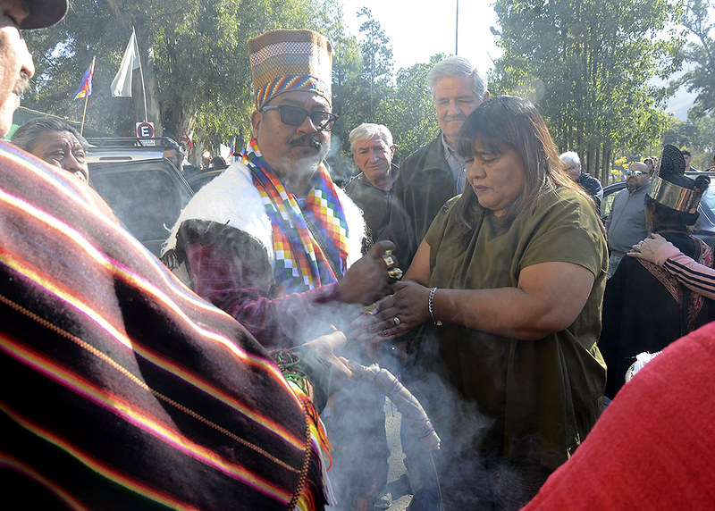 Celebración de la Pachamama