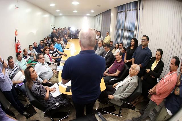 01.08.2019 Posse do novo diretor-presidente do Instituto Municipal Urbano, Manoel Paiva.