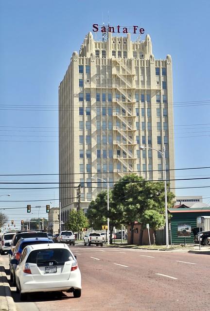 Santa Fe Building - Amarillo, Texas.