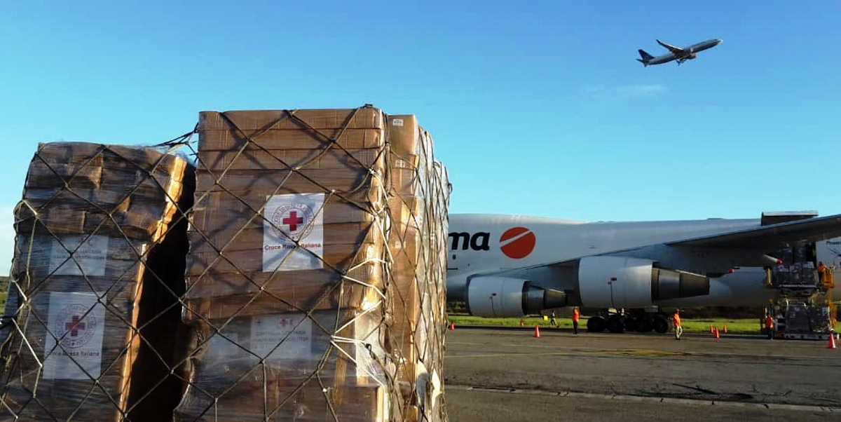 Arriba a Venezuela primer cargamento con Asistencia Técnica Humanitaria proveniente de Italia