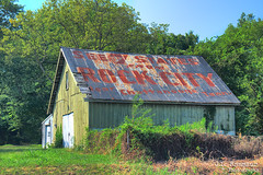 See 7 States from Rock City Near Chattanooga, Tenn barn - Sellersburg, Indiana