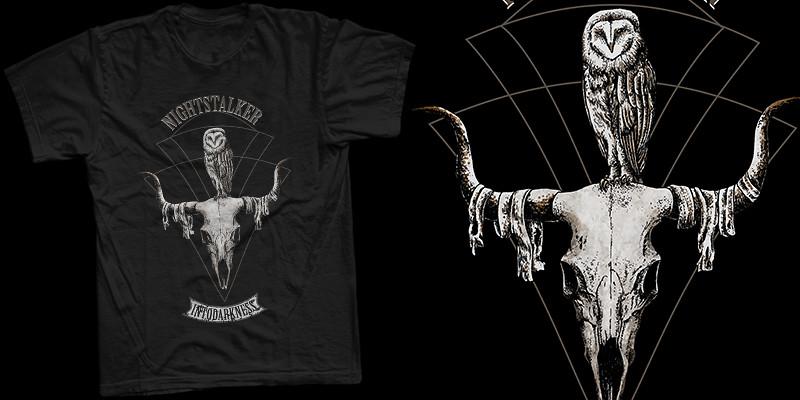 skullbird mockup