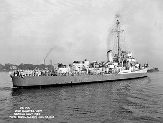 USS Hopping STBD Quarter View