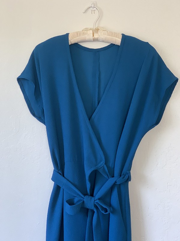 zadie jumpsuit on hanger