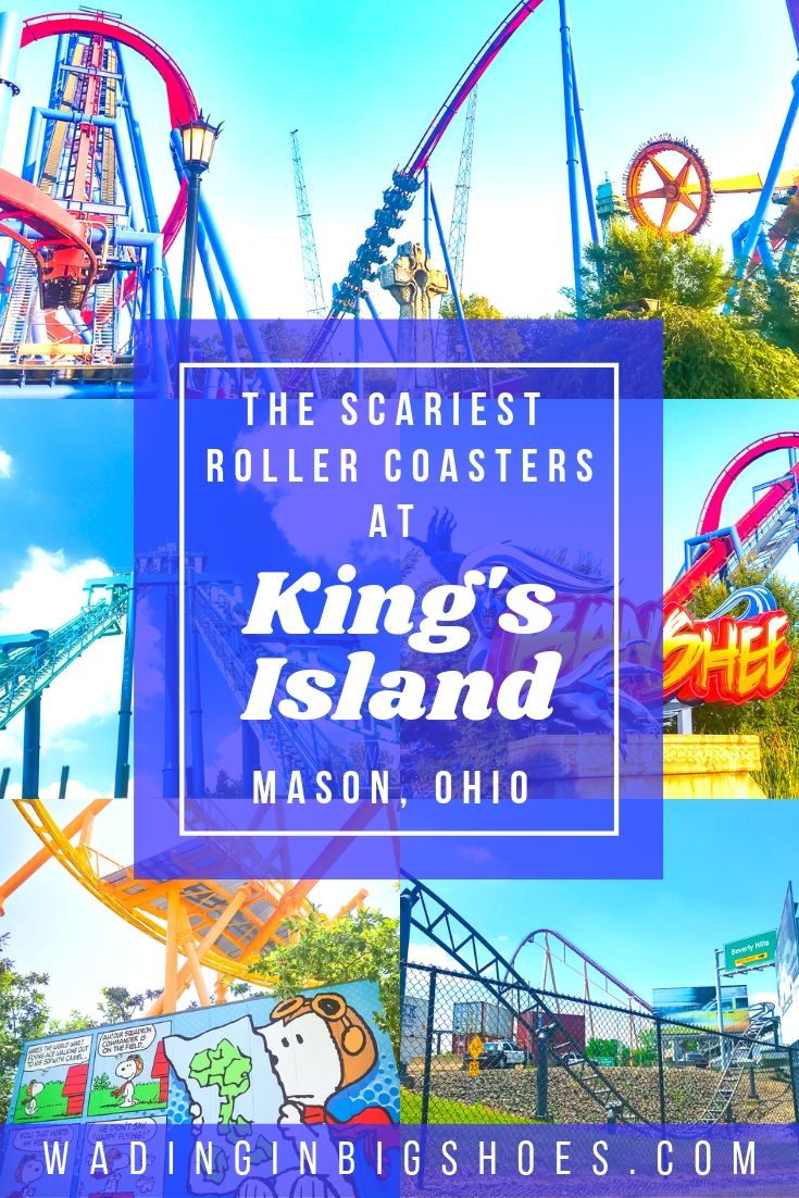 Wading in Big Shoes - Just How Scary Are The Roller Coasters at Kings Island? (Ride Guide & Review)