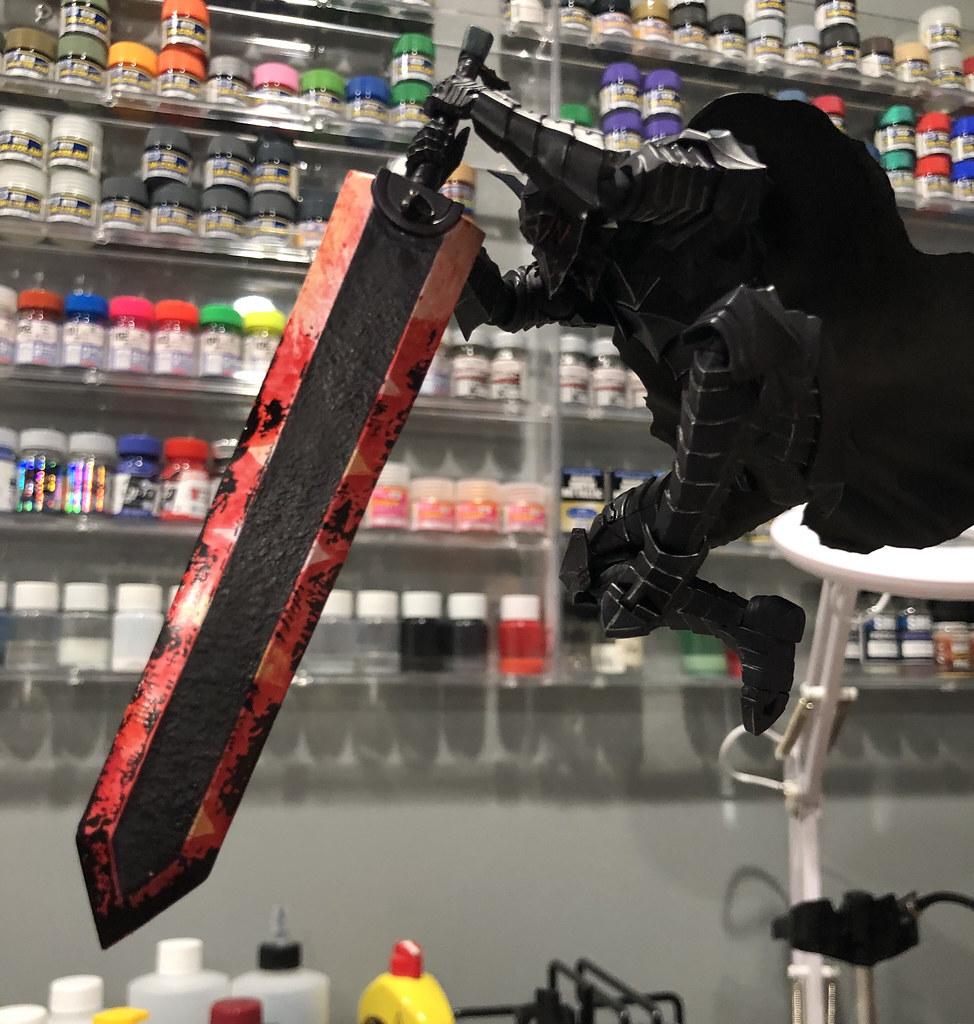 Figma Guts Berserker Armor Skull Repaint