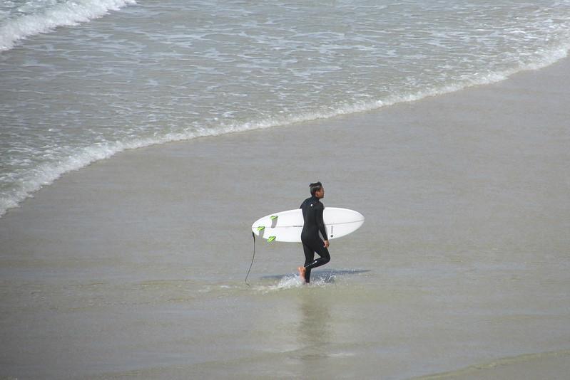 Surfing Duranbah Beach Australia