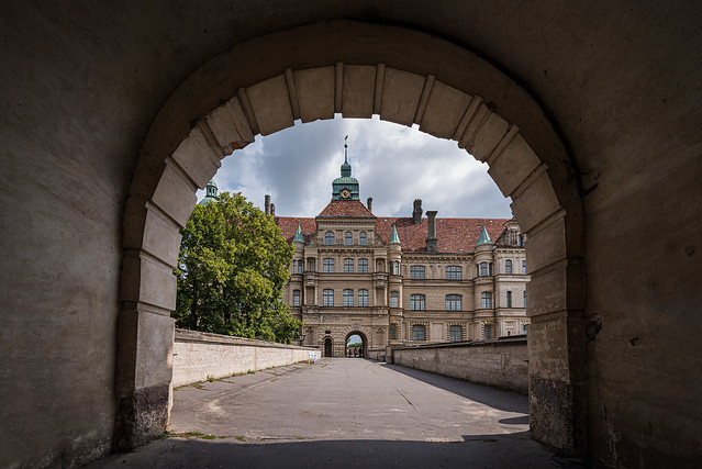 Güstrow Palace gate