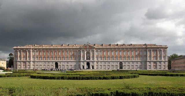 Reggia di Caserta - ingresso principale
