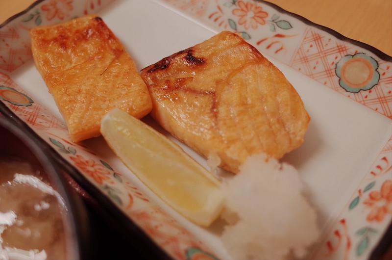 豊洲安庵鮭ハラス