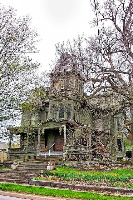 Webster Wagner Mansion - Abandonment  -  Palatine Bridge -  New York  - HIstoric