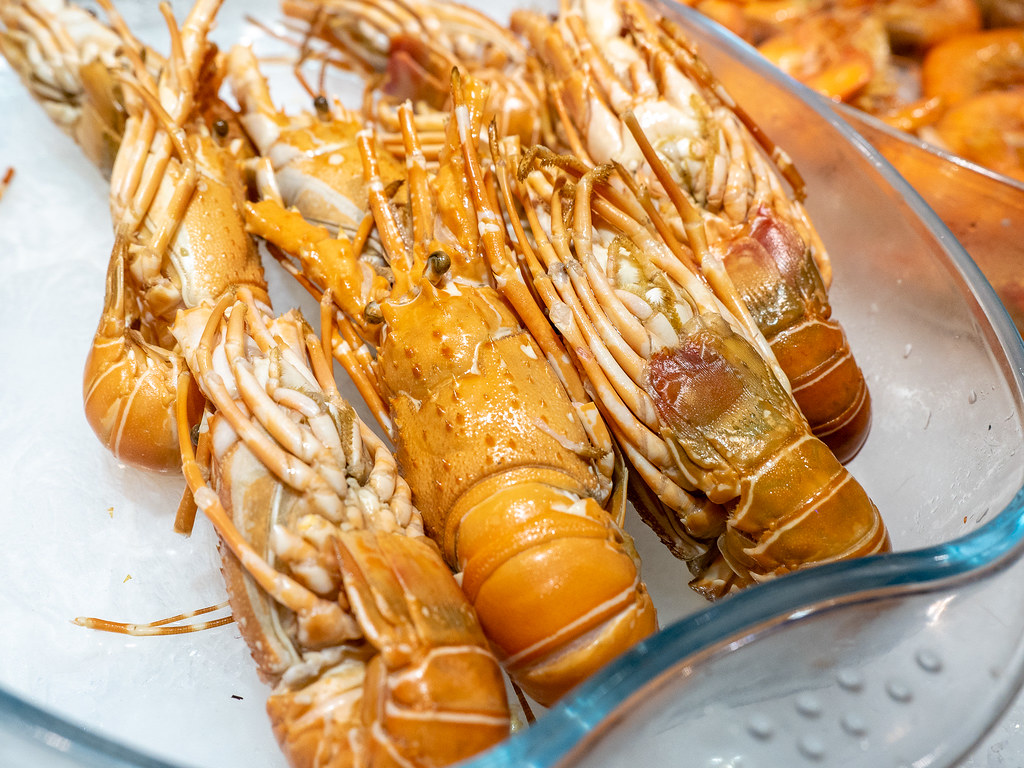 Jogoya Buffet's Baby Lobster