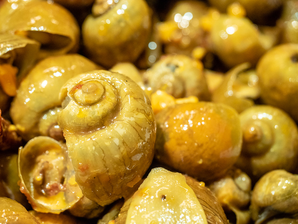 Spicy Chili Snail from this buffet restaurant in Starhill Gallery