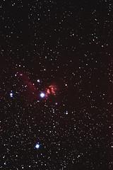Flame & Horsehead Nebulae