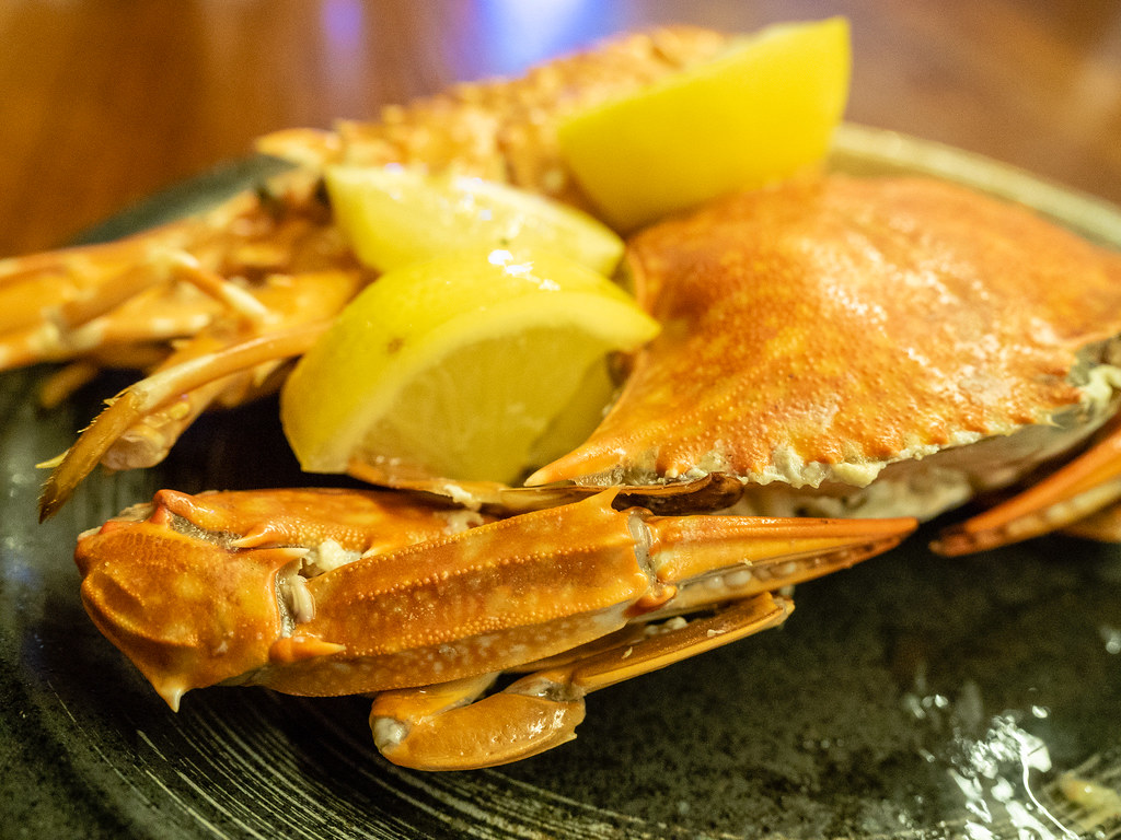 Soft-Shell Crab with lemons