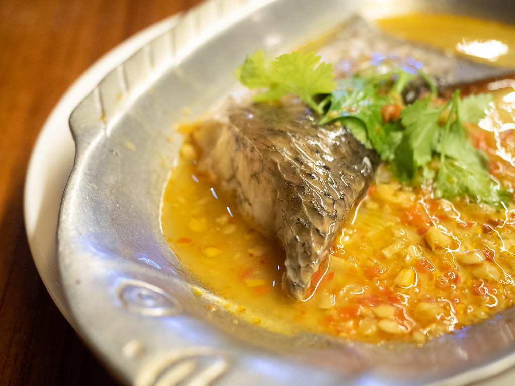 Jogoya's Steamed Spicy Siakap Fish