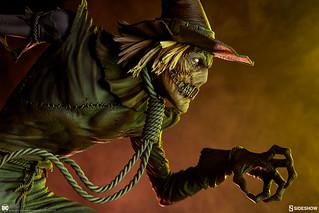 展現出強烈的非人類鬼魅感! Sideshow Collectibles Premium Format Figure 系列 DC Comics【稻草人】Scarecrow 1/4 比例全身雕像 普通版/EX版