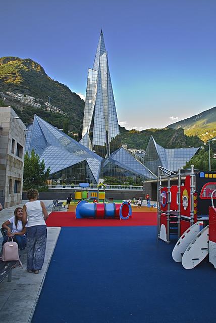 zona de juegos infantiles en Andorra