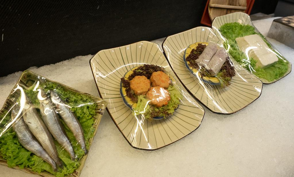 Japanese fried food at Jogoya buffet restaurant.