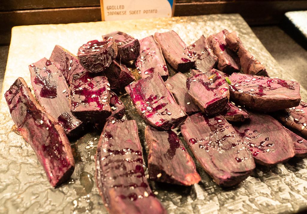Jogoya Buffet's Japanese Sweet Potato